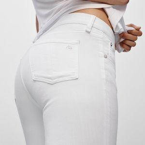 •Rag & Bone• Bright White Skinny Jeans